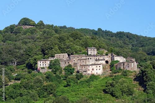 fototapeta na ścianę Velone Orneto village in upper Corsica