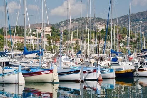 Foto op Aluminium Cyprus yachts in harbor