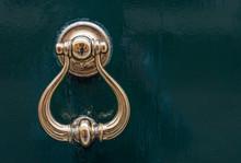 Detail Of A Golden Door Knocke...