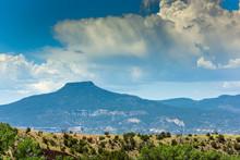 Cerro Pedernal Mountain