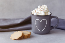 Delicious Hot Chocolate With W...