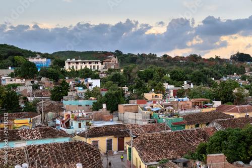 Fotografía  Panorama of Trinidad, Cuba
