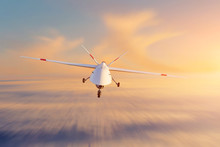 Unmanned Military Drone Patrol...
