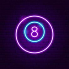 Lucky Ball Neon Sign