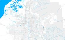 Rich Detailed Vector Map Of Sa...