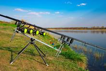 Carp Fishing Rods With Carp Bi...