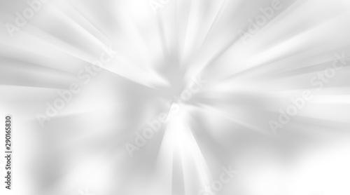 white gray motion background / grey gradient abstract background Fototapete