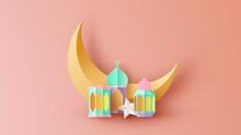 Paper Art Of Ramadan Kareem Cr...