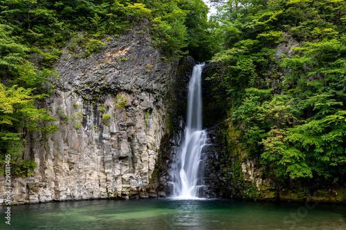 Fototapeta 銚子の滝 obraz na płótnie