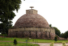 Stupa 3 At Sanchi Near Bhopal