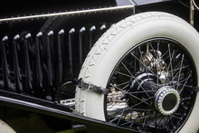 Vintage Classic Car Spare Wheel