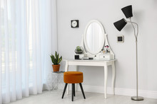 Dressing Table With Mirror In ...