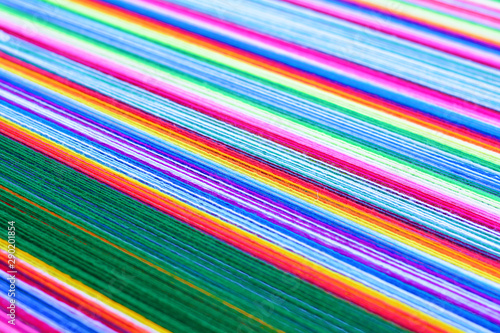 A lot of beautiful colorful threads. Wallpaper Mural