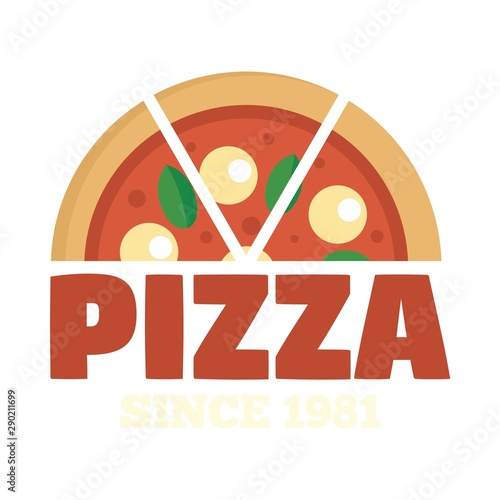 Photographie  Pizza since 1981 logo