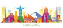Latin America Skyline Landmark...