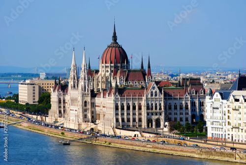 Aluminium Prints Budapest Parliament of Budapest. Hungary