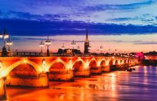 Pont De Pierre Stone Bridge At...
