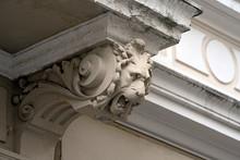 Fassadenstuck An Einem Altbau / Wuppertal, Elberfeld, Paradeberg, Nordstadt