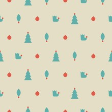 Winter Seamless Pattern With F...