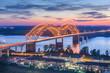Memphis, Tennessee, USA at Hernando de Soto Bridg