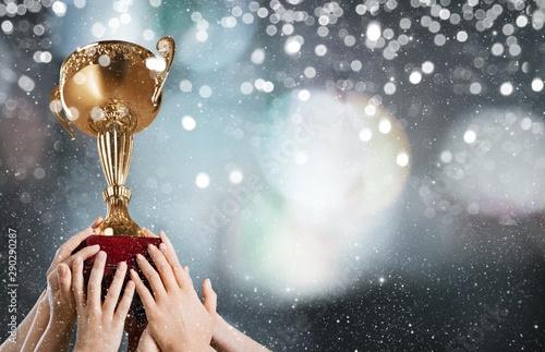 Photographie Champions.