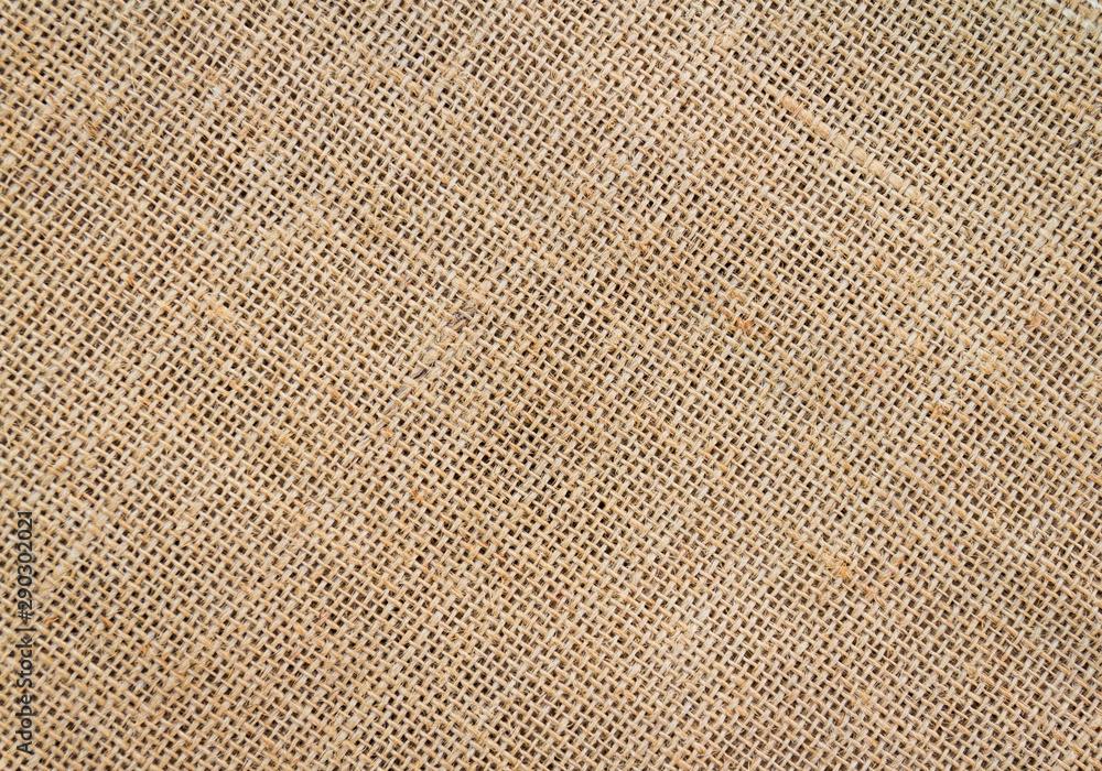 Fototapeta Burlap sack background and texture