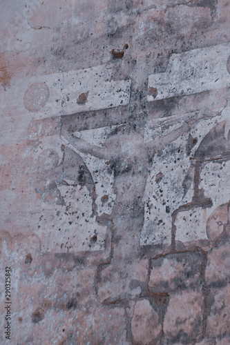 Canvas Prints Old dirty textured wall st. George church, Orthodox, Famagusta, Cyprus