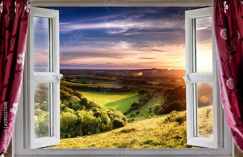 Fototapeta Amazing window view