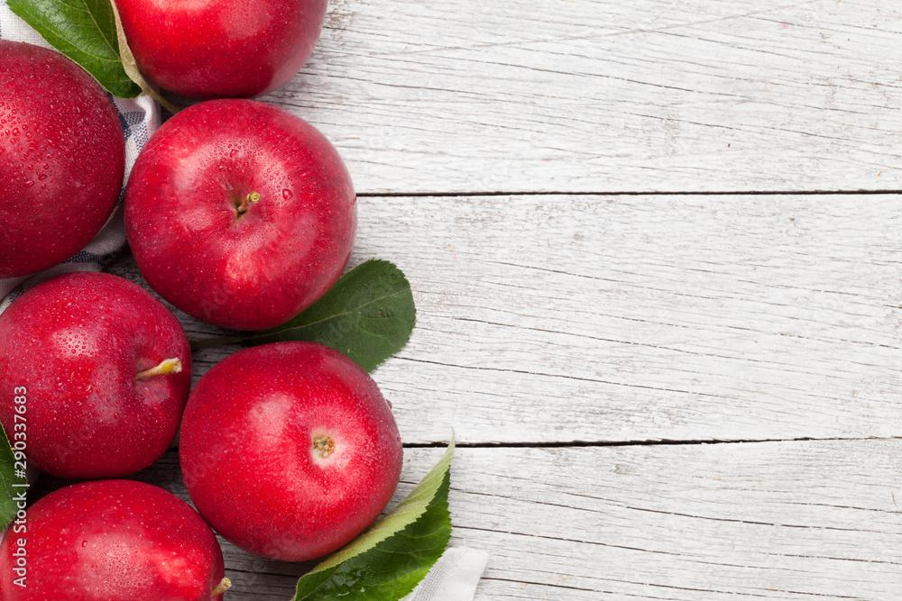 Fototapety, obrazy: Ripe red apples