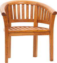 Wooden Chair Isolated On White...