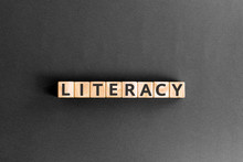Literacy - Word From Wooden Bl...