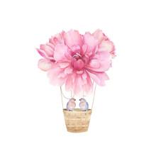 Aerostat Balloon Flowers. Wate...