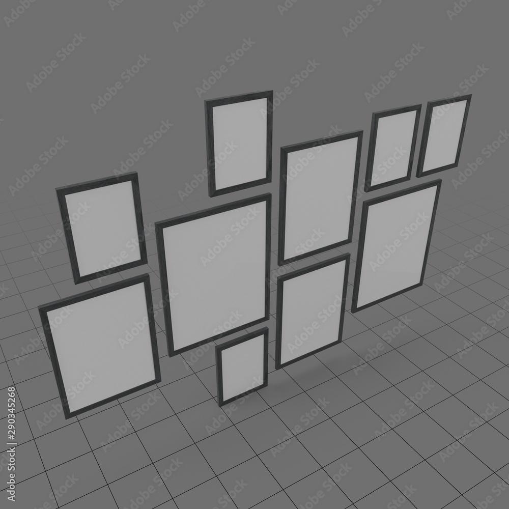 Fototapety, obrazy: Picture frames