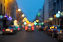 The City's A Blur... (Capel St...