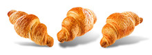 Croissant On A White Isolated ...