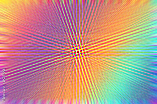 An abstract psychedelic background image. Canvas Print