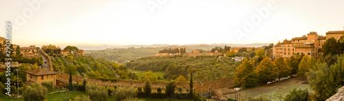 Siena panorama Tapéta, Fotótapéta