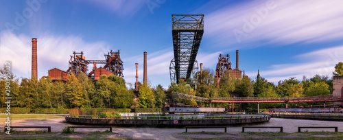 Canvas Prints Crocodile Landschaftspark Duisburg-Nord