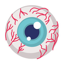 Eye Human Organ Halloween Icon