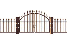 Graveyard Gate And Door Icon