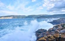 Galician Seascape In Coitelada...