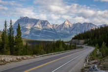 Scenic Road In The Canadian Ro...