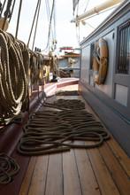 Ropes On A Tall Ship