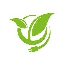 Bioenergy Logo Design Vector E...