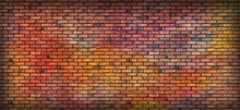 Graffiti Brick Wall,
