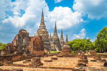 Wat Phra Si Sanphet At Ayuttha...