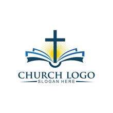 Church Christian Logo Vector I...