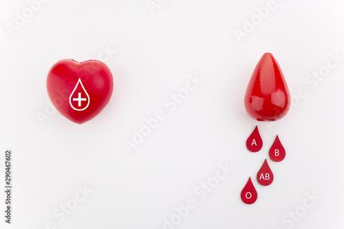 Fototapeta  Giving blood saves live