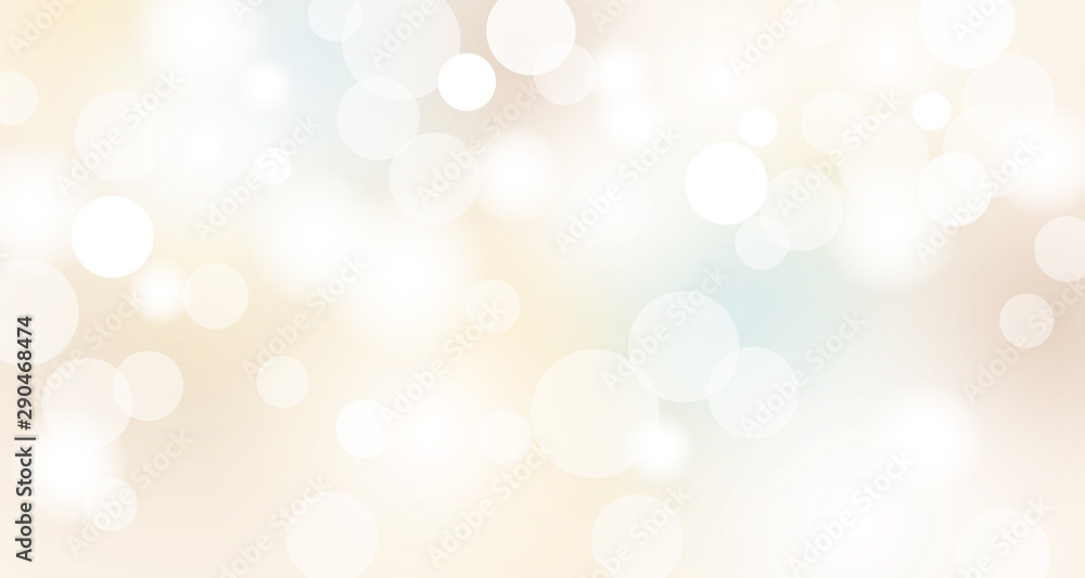 Fototapeta Abstract bokeh lights background vector illustration