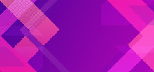 Minimal Geometric Background. Pink Purple Colors. Dynamic Shapes Composition. Eps10 Vector. Texture Lines Triangle.